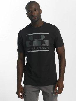 Under Armour T-skjorter Blocked Sportstyle svart
