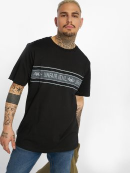 UNFAIR ATHLETICS Camiseta Athl. Striped negro