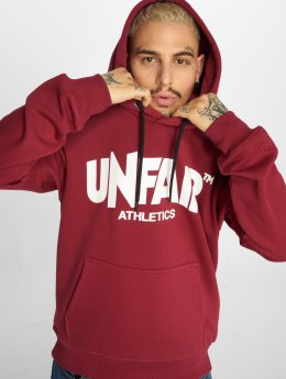 UNFAIR ATHLETICS Hoodie Classic Label röd