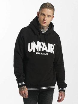 UNFAIR ATHLETICS Hoodie Classic Label svart