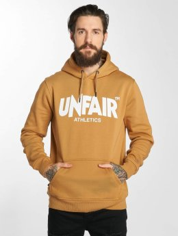 UNFAIR ATHLETICS Classic Label Hoody Brown