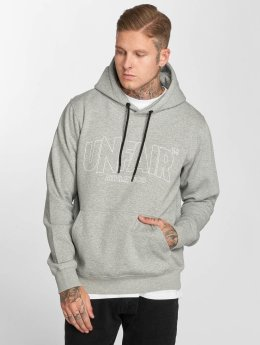 UNFAIR ATHLETICS Hoody Classic Label Outlines grau
