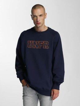 UNFAIR ATHLETICS Pullover Logo blau