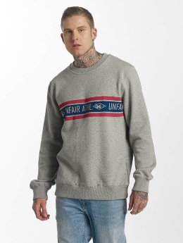 UNFAIR ATHLETICS Pullover Athl. Striped grau