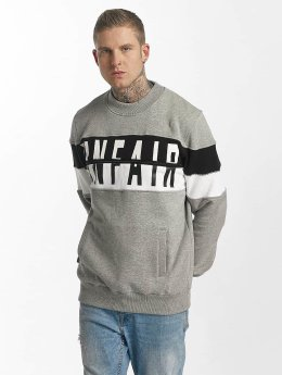 UNFAIR ATHLETICS Pullover Contrast Zipped grau