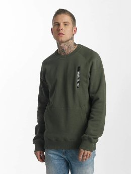 UNFAIR ATHLETICS Pullover Taped Zip olive