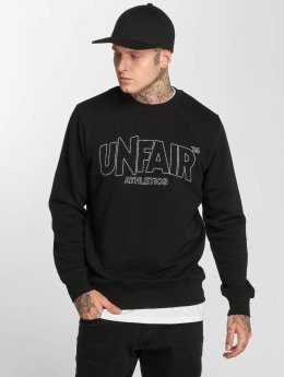 UNFAIR ATHLETICS Pullover Classic Label Outlines schwarz