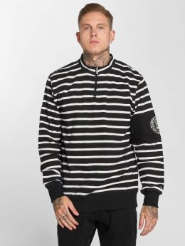 UNFAIR ATHLETICS Pullover Yarndye Striped schwarz