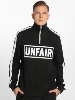 UNFAIR ATHLETICS Pullover UNFAIR Rib Halfzip schwarz