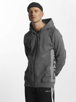UNFAIR ATHLETICS Sweat capuche zippé Stretch Zip gris