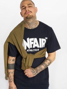 UNFAIR ATHLETICS T-shirts Classic Label blå