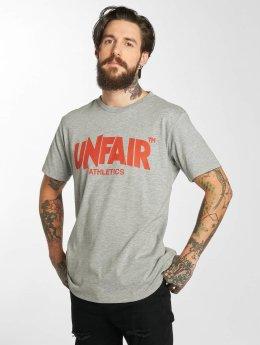 UNFAIR ATHLETICS Classic Label T-Shirt Grey1