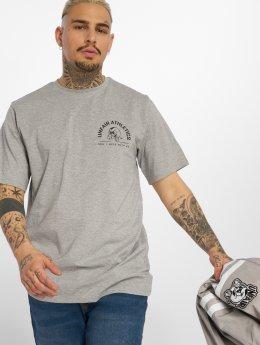 UNFAIR ATHLETICS T-shirts Punchingball Hybrid  grå