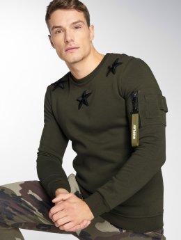 Uniplay Пуловер Jon хаки