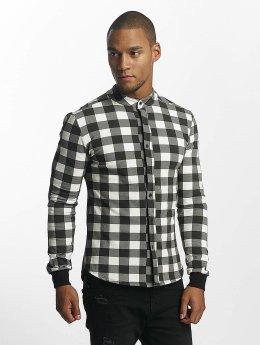 Uniplay Camisa Checkered negro