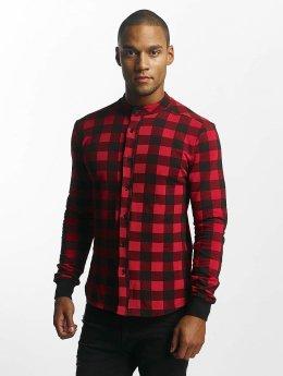 Uniplay Camisa Checkered rojo