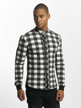 Uniplay Chemise Checkered noir