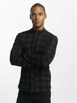 Uniplay Koszule Checkered khaki