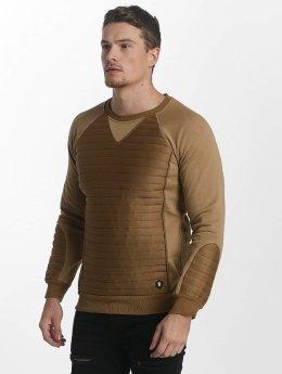 Uniplay Svetry Uniplay Sweatshirt hnědý