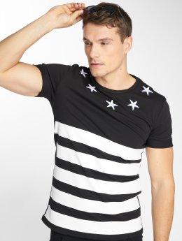 Uniplay T-paidat Stripe musta