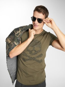 Uniplay t-shirt Basis khaki