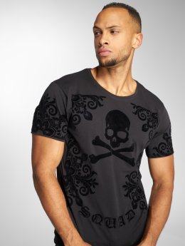 Uniplay t-shirt Skull zwart