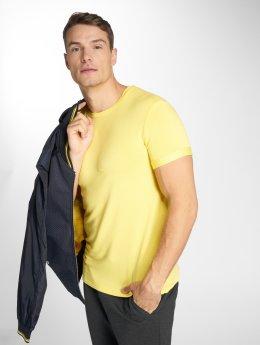 Uniplay Tričká Basic žltá