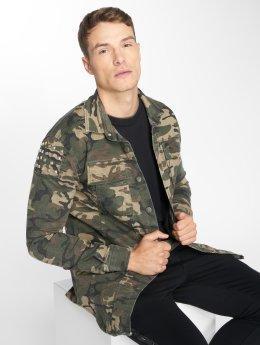 Uniplay Veste mi-saison légère Camo camouflage