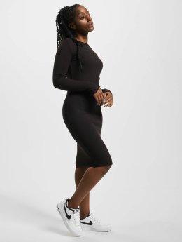 Urban Classics Šaty Rib čern