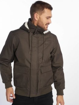 Urban Classics Зимняя куртка Heavy оливковый
