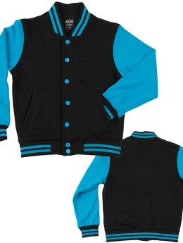 Urban Classics Университетская куртка Kids 2-Tone черный