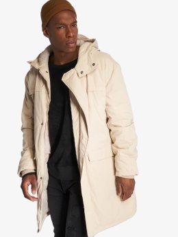 Urban Classics Abrigo Cotton Peached Canvas beis