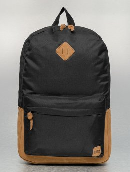 Urban Classics Backpack Leather Imitation black