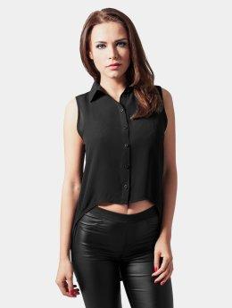 Urban Classics Blouse/Tunic Ladies High Low black