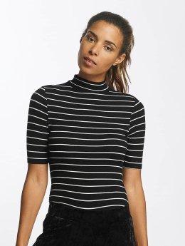 Urban Classics Body Striped Turtleneck zwart