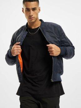 Urban Classics Bomber jacket Basic blue