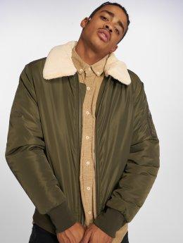 Urban Classics Bomber jacket Pilot olive