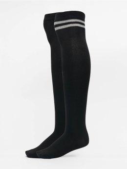 Urban Classics Calcetines Overknee  negro