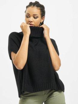 Urban Classics Cardigan Knitted Poncho  noir