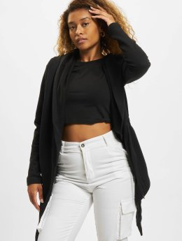 Urban Classics Cardigan Ladies Hooded noir