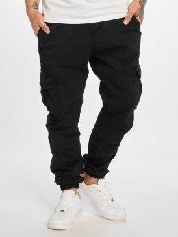 Urban Classics Cargo pants Cargo Jogging čern
