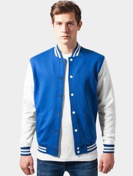 Urban Classics College Jacke 2-Tone College Sweatjacket blau
