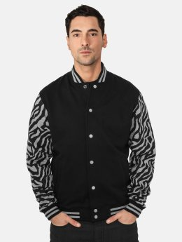 Urban Classics College Jacke 2-Tone Zebra schwarz