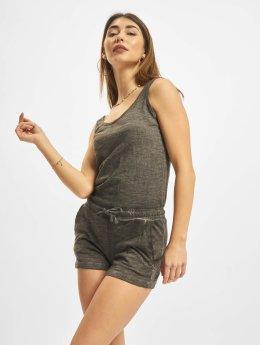 Urban Classics Combinaison & Combishort Cold Dye gris