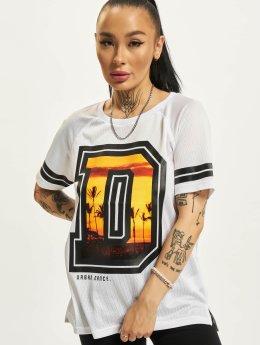 Urban Classics Dance t-shirt Mesh oranje