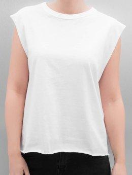 Urban Classics Débardeur Jersey Lace Up blanc
