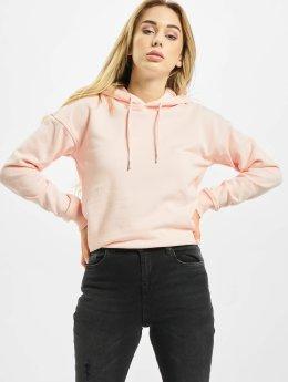 Urban Classics Felpa con cappuccio Ladies  rosa chiaro
