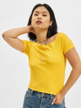 Urban Classics Hihattomat paidat Rebecca keltainen