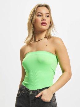 Urban Classics Hihattomat paidat Ladies vihreä