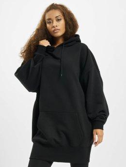 Urban Classics Hoodie Long Oversize svart